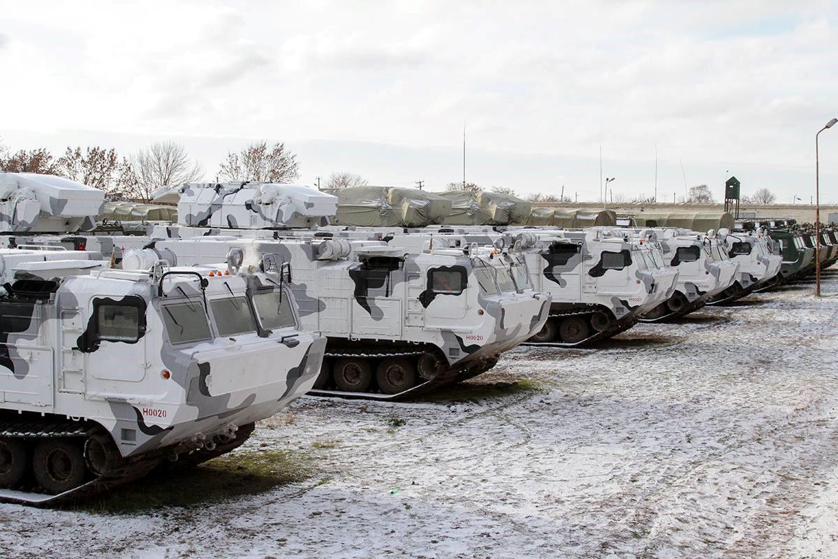 «Тор-М2ДТ» для арктических войск