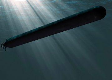 Торпеда под водой