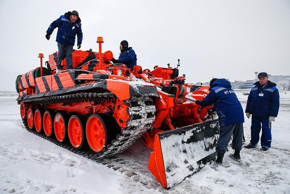 Трактор на основе Т-14 «Арматы»