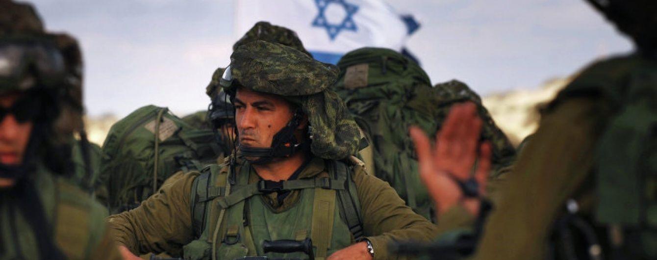Учения на территории Израиля