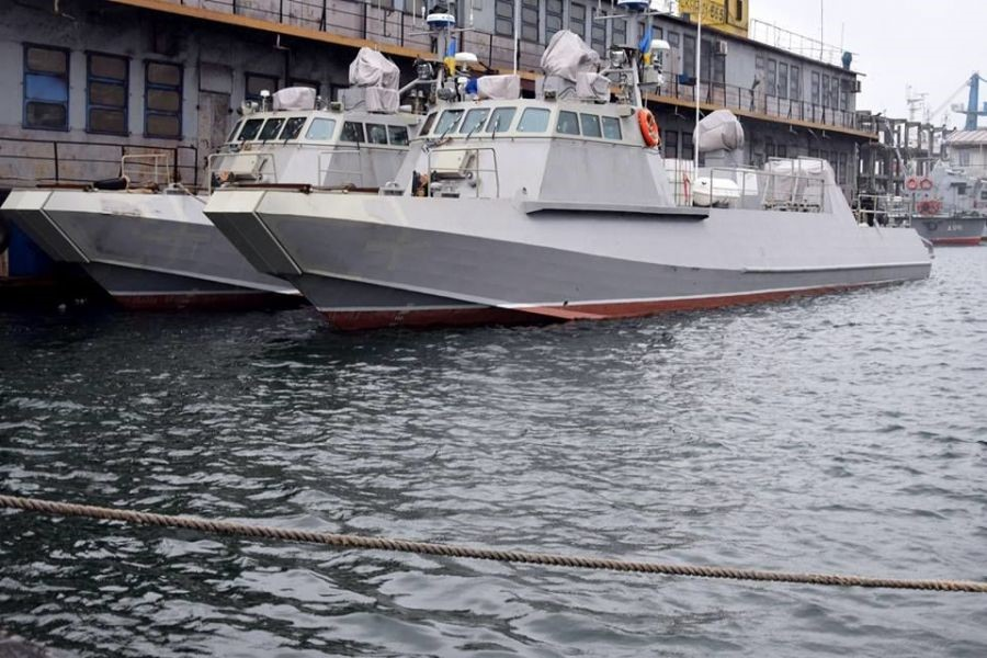 Украинские десантные катера