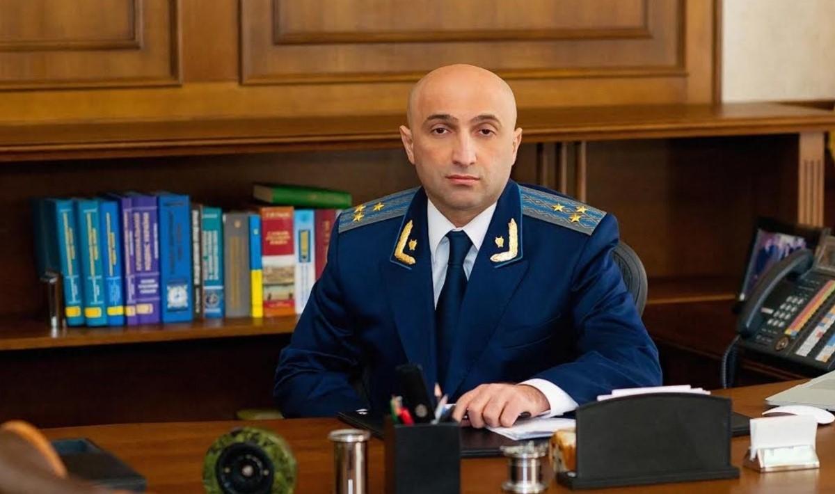 Украинский прокурор Гандюз Мамедов