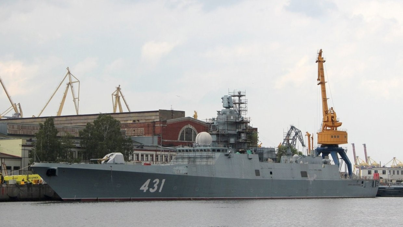 Установка «Филина» на корабль