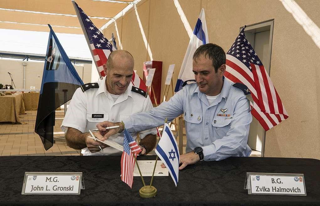 Военные США и Израиля