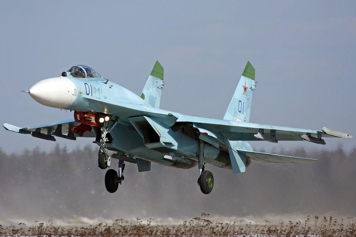 Взлет российского истребителя