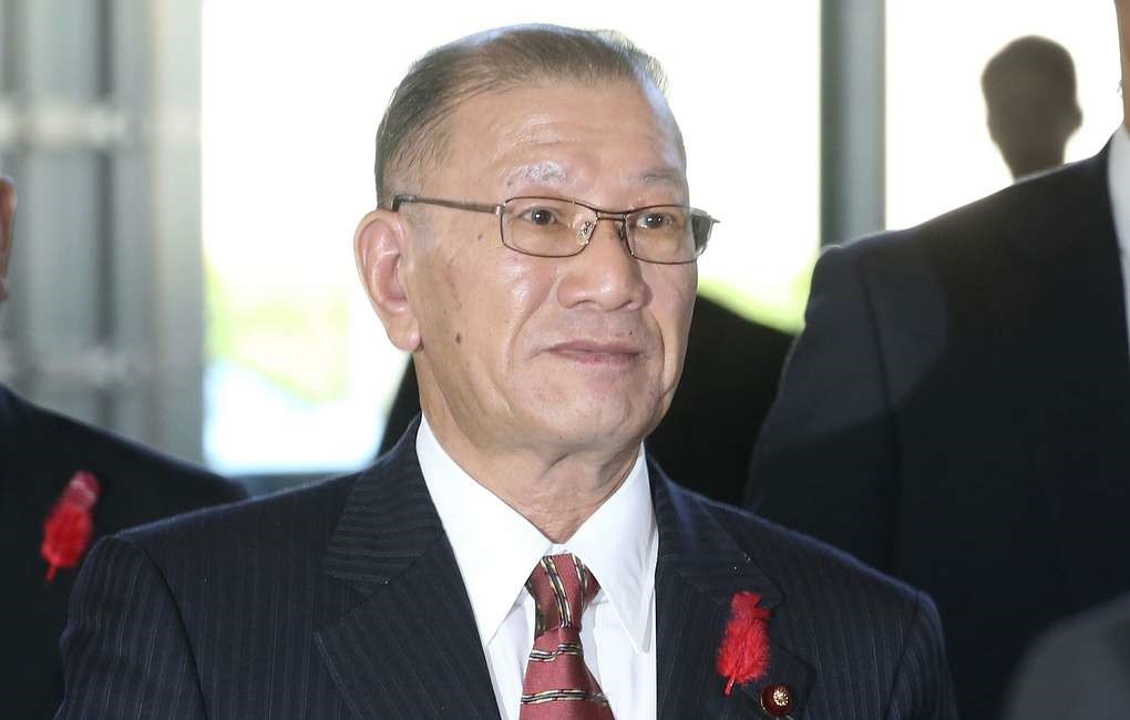 Японский министр Мицухиро Миякоси