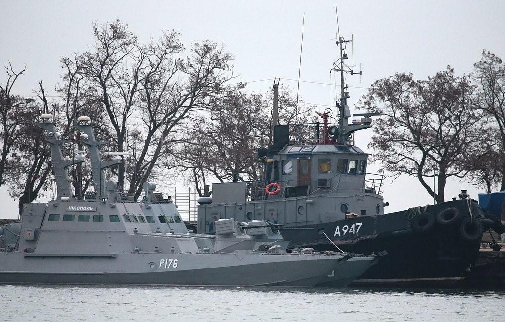 Задержанные украинские катера
