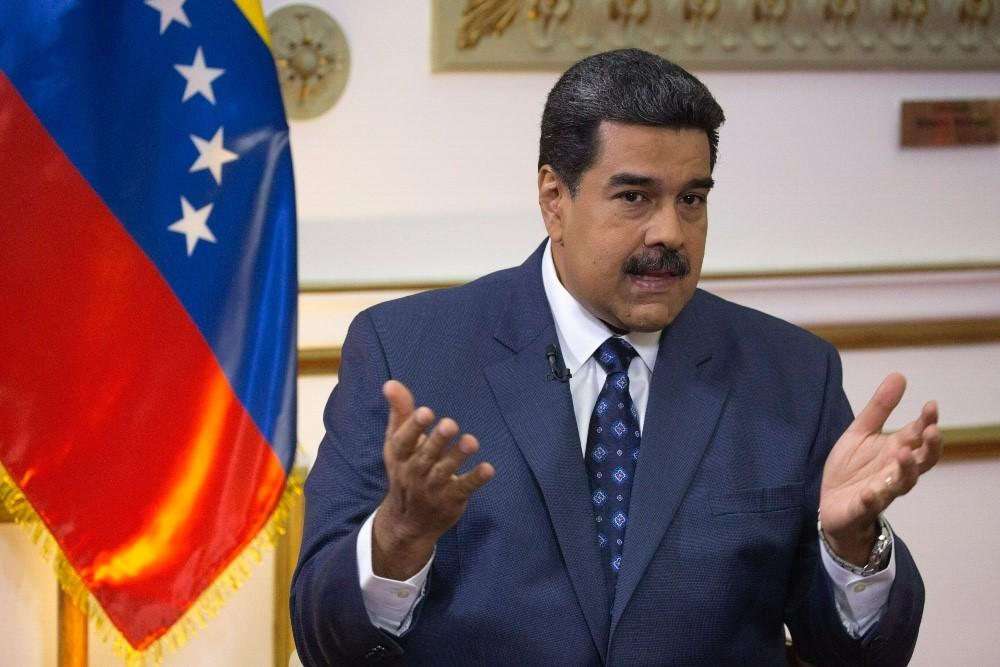 Законный президент Венесуэлы Николас Мадуро