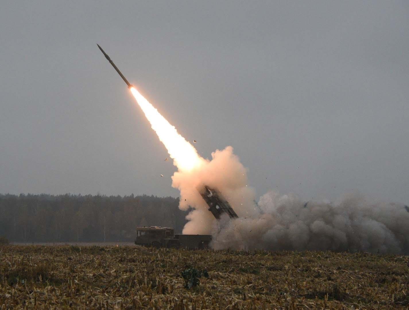 Запуск ракеты «Полонез»