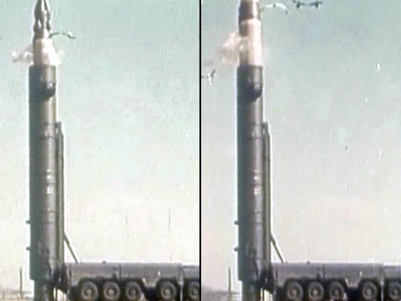 Запуск ракеты в 70-х
