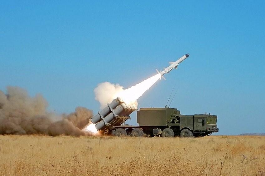 Запуск российской ракеты «Бал»