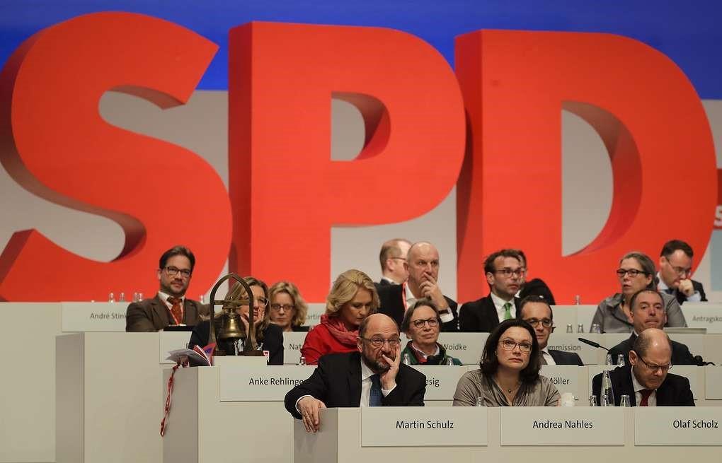 Заседание СДПГ Германии