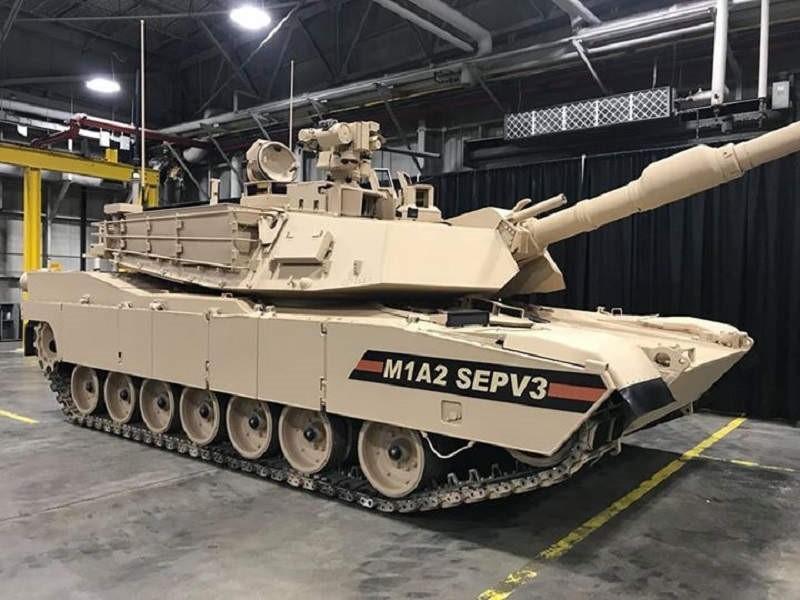 Abrams модификации M1A2 SEPv3