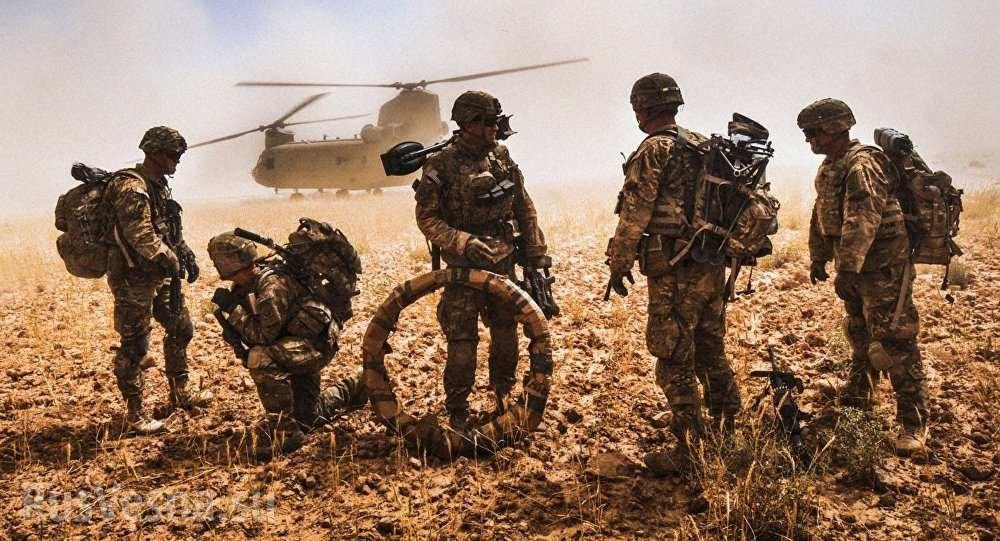 Американцы в Афгане