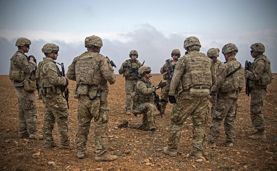 Американцы в сирийской пустыне