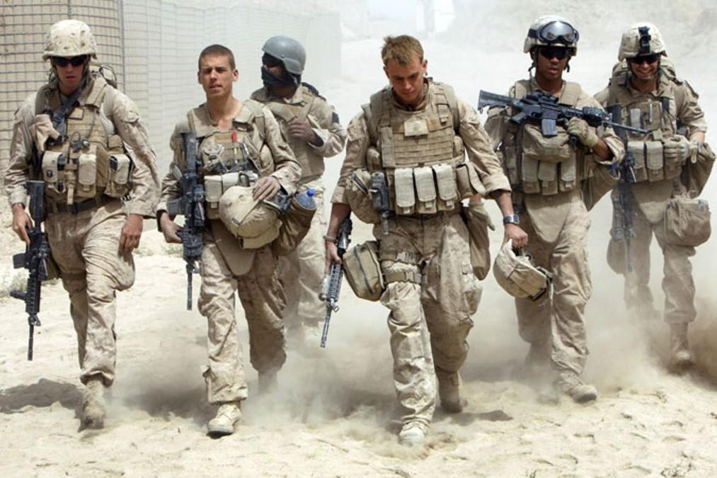 Американские солдаты в Афгане