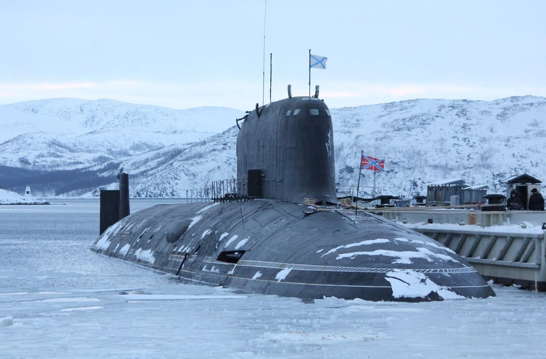 Атомная субмарина российского флота