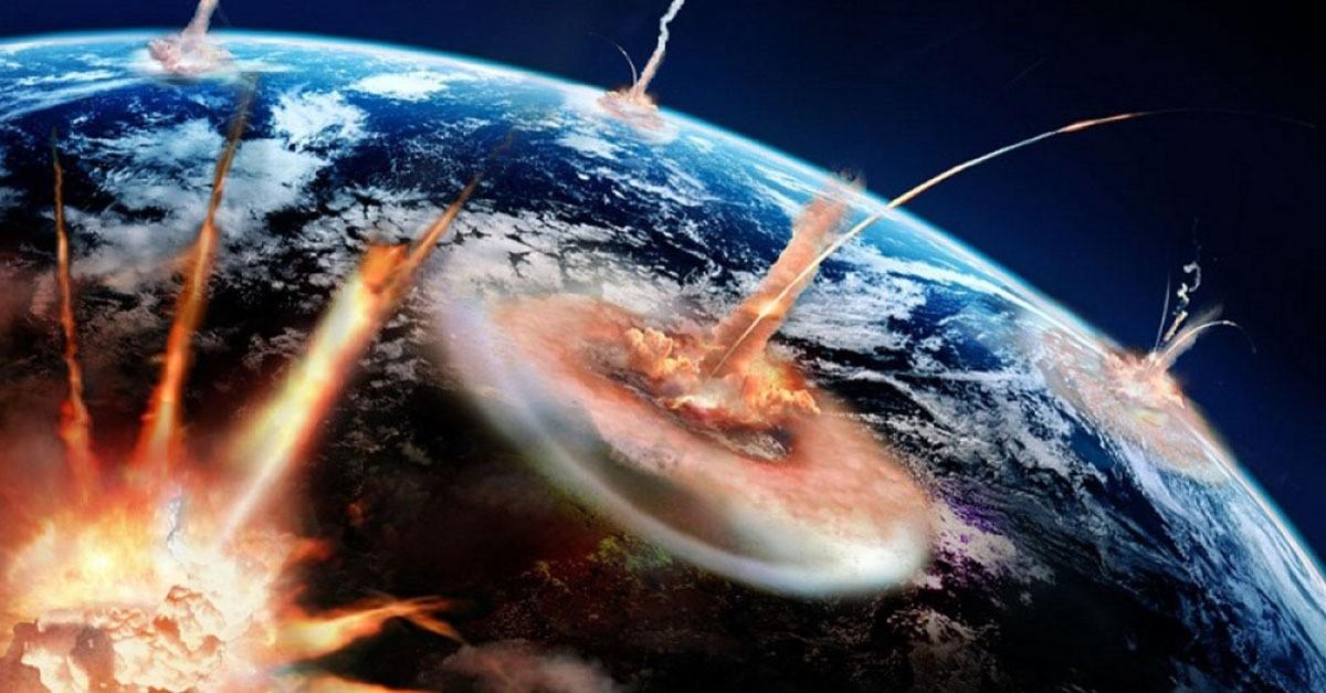 Атомный взрыв из космоса