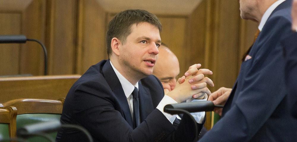 Депутат латвийского парламента