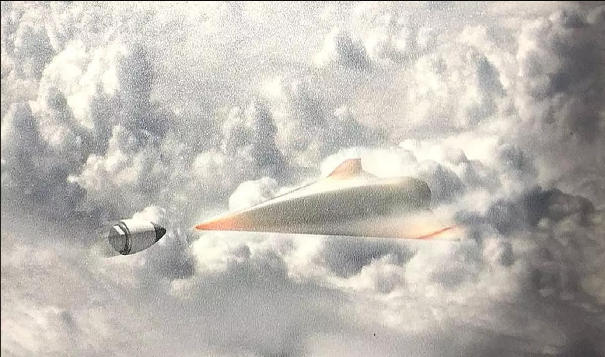 Дрон и гиперзвуковая ракета