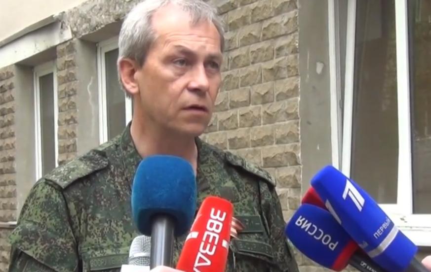 Эдуард Басурин, представитель ДНР