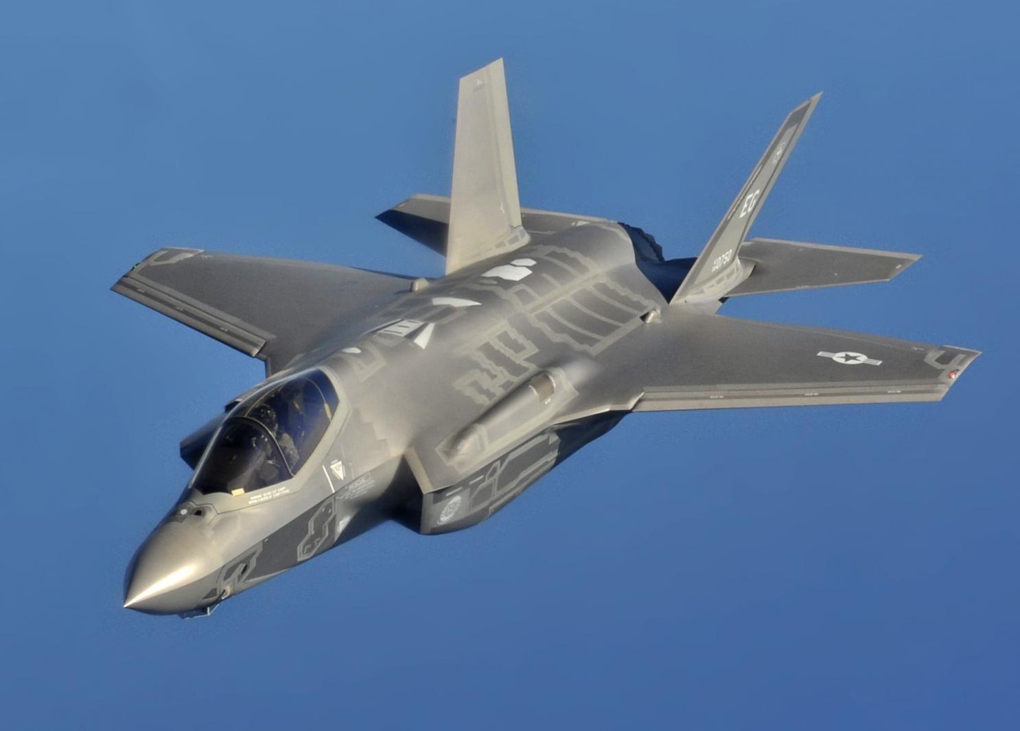 F-35, истребитель ВВС США