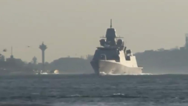Фрегат НАТО в Черном море
