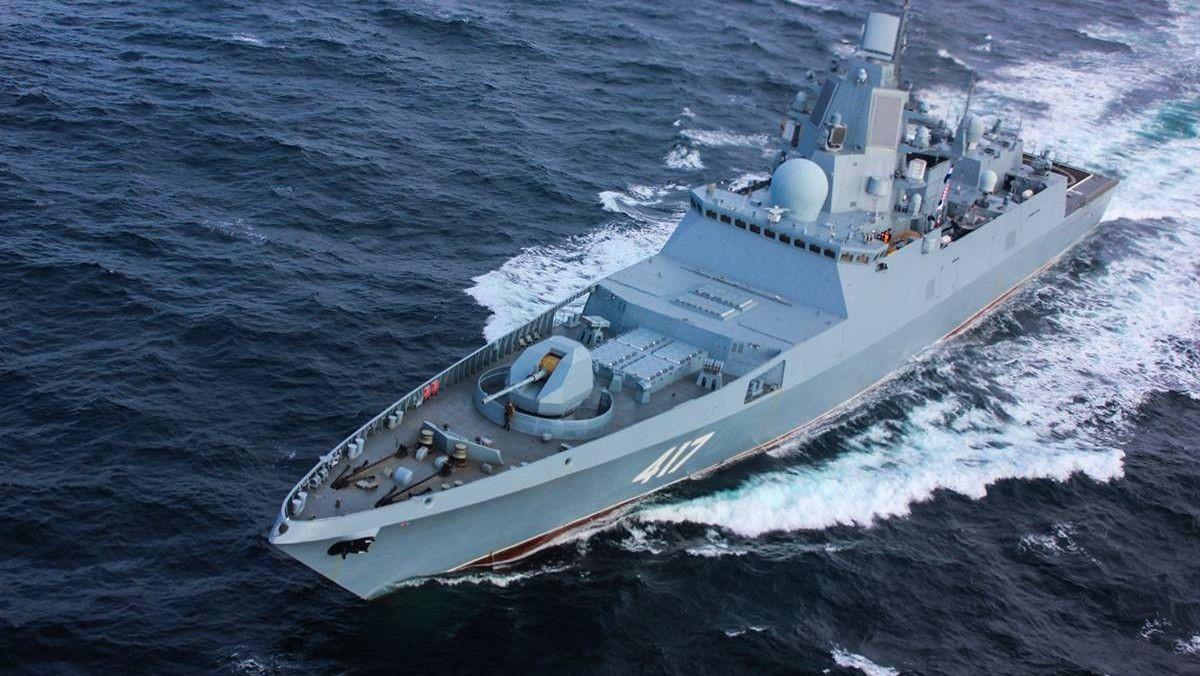 Фрегат ВМФ РФ «Адмирал Горшков»