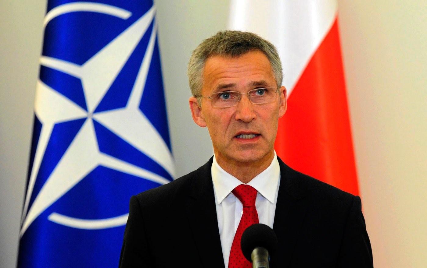 Генсек НАТО дает интервью