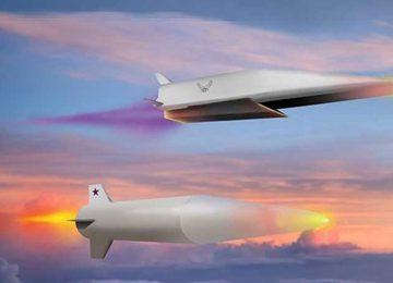 Гиперзвуковые ракеты в полете