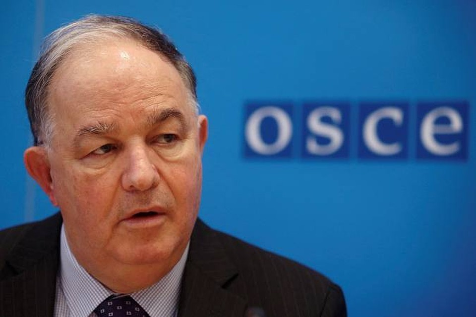 Глава мониторинговой миссии ОБСЕ Эртурул Апакан