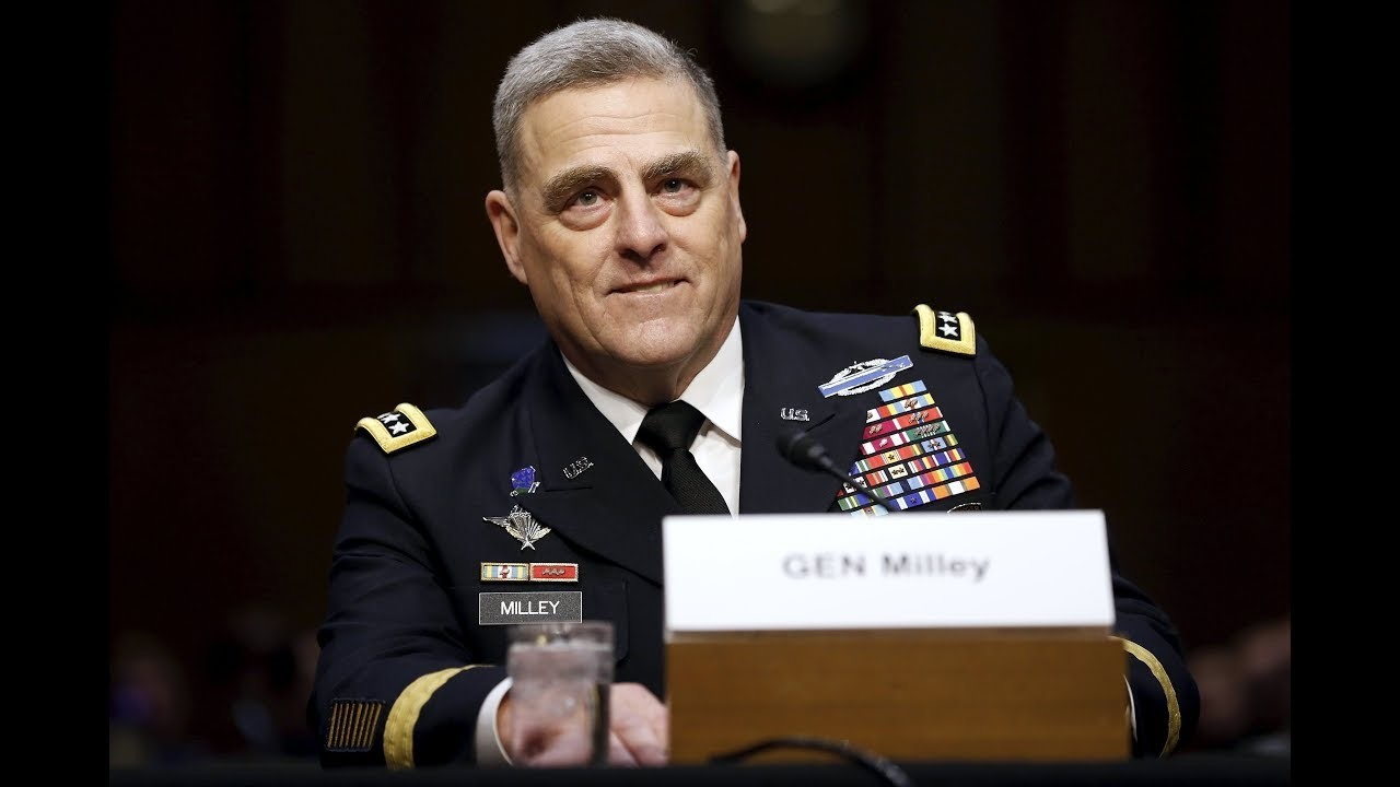 Интервью начальника штаба армии США
