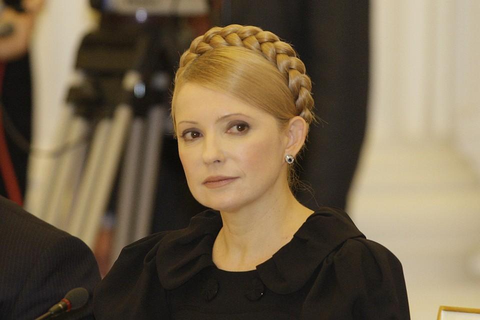Кандидат в президенты Украины Тимошенко