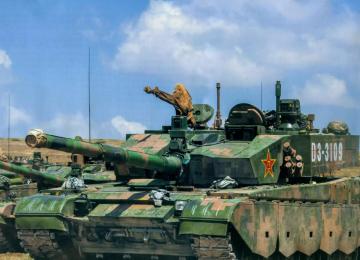 Китайские танки