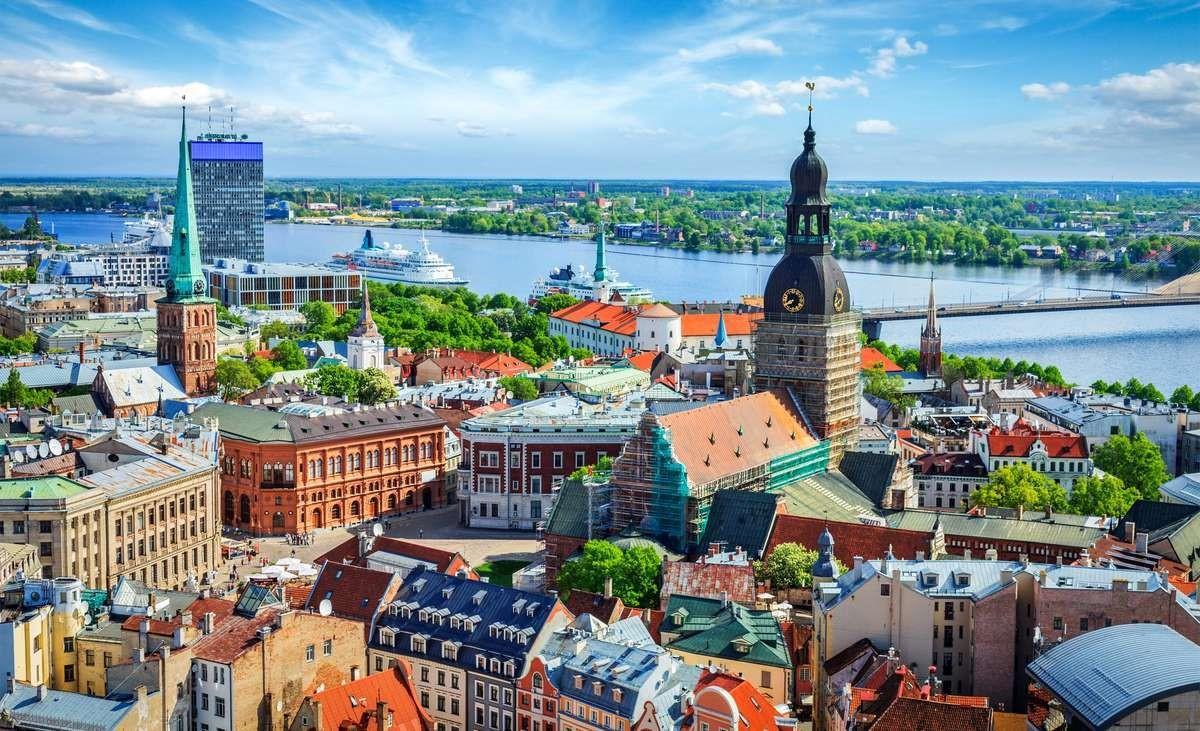 Латвийский город