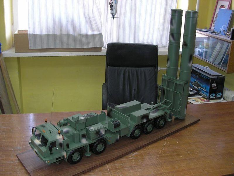 Макет комплекса С-500