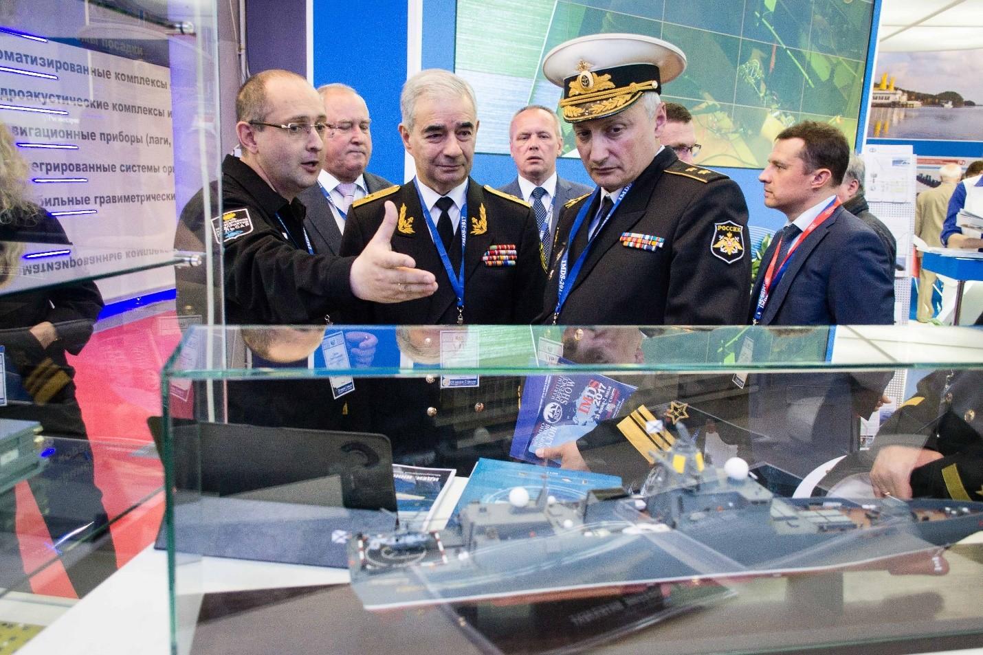 Макет российского корабля