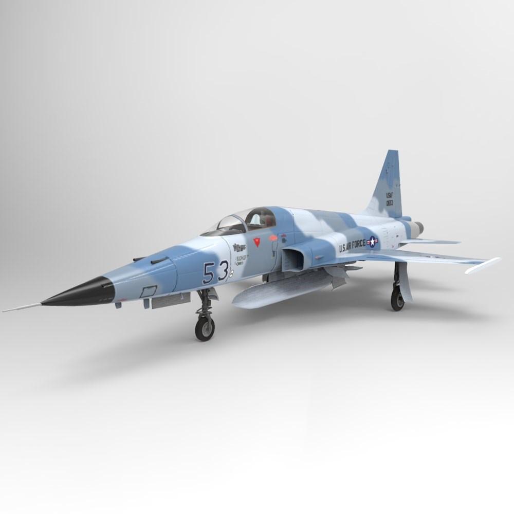 Макет самолета F-5