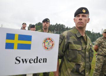 Международные военные учения в Швеции
