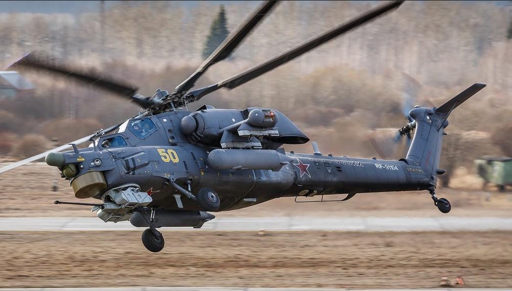 Ми-28Н «Ночной охотник» с искусственным интеллектом