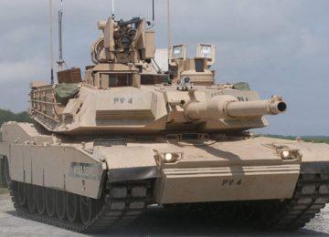 Модернизированный старый Abrams