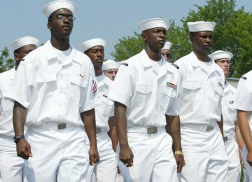 Моряки США