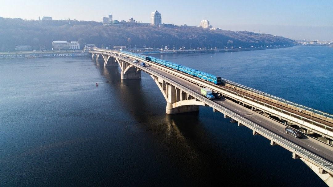 Мост через Днепр