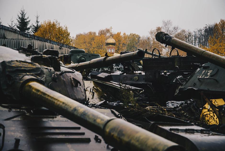 Музейный комплекс танковой техники