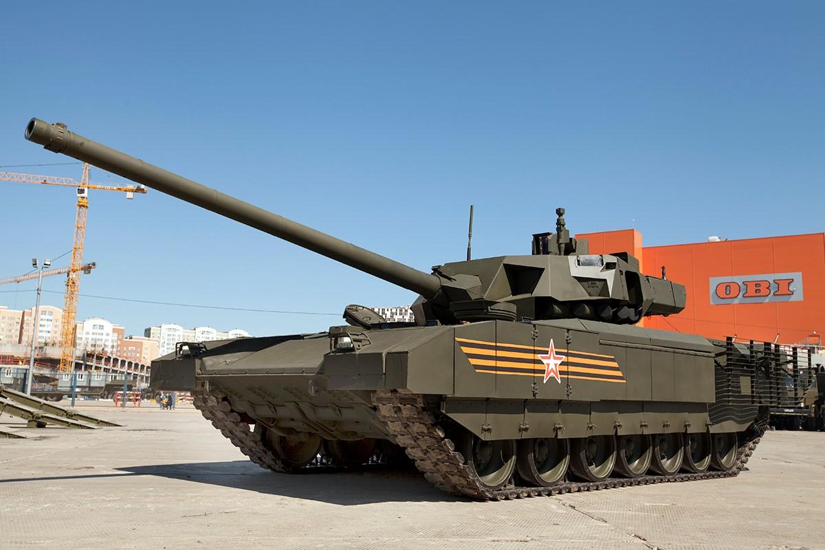 Оборудованный туалетом танк Т-14