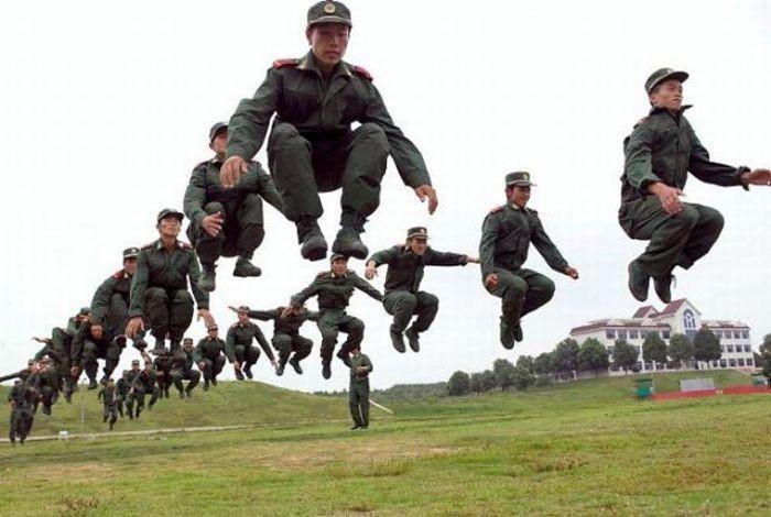 Одновременный прыжок