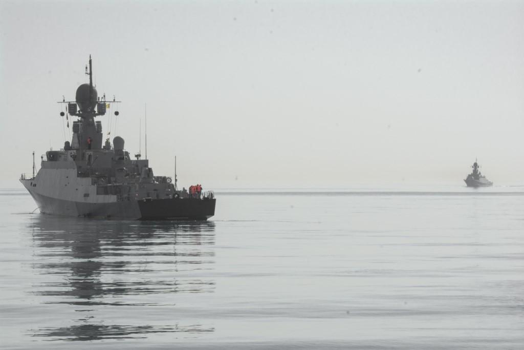 «Орехово-Зуево» в открытом море