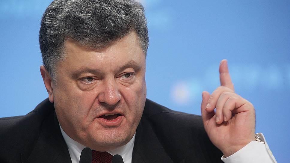 Порошенко говорит о новых украинских ракетах