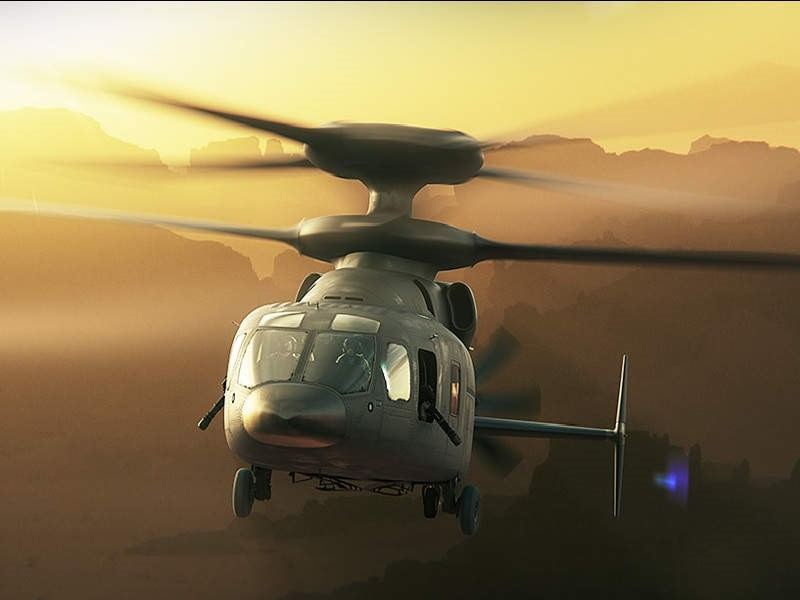 Прототип нового вертолета