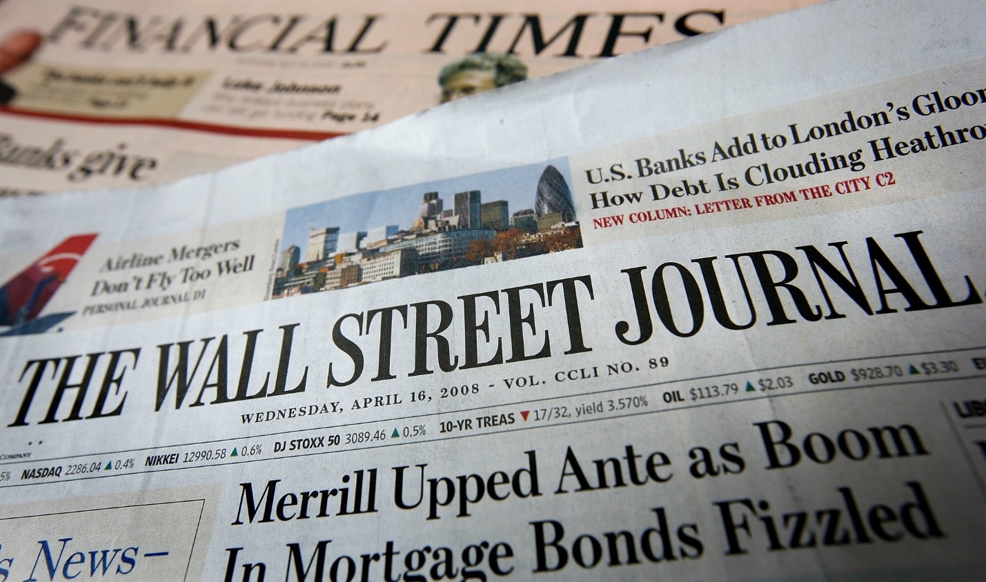 Разворот Wall Street journal